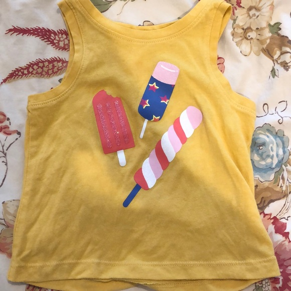 Cat & jack Ice pop shirt